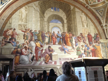School of Athens, fresco by Raphael