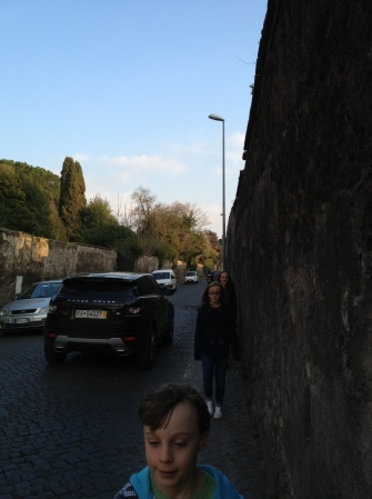 Tight Italian Road-Rome