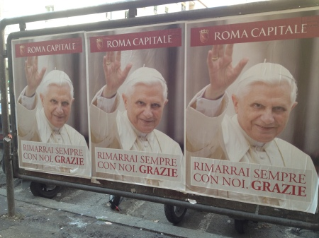 Last day of Pope Benedict XVI