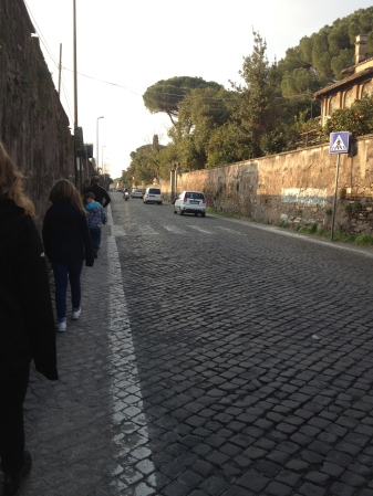 Cobblestone highway of near death.
