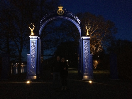 Pretty gate into Djurgården.