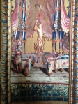 Tapestries hang in the Oval Room.