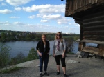 Me and Diana in Skansen.