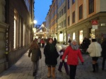Out in the cobblestone streets of Old Town