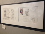 Drawing/sketch of Mario Cart....now that interested me!(at the Tekniska Museet)
