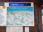 Map of Passo Rolle. Memory Lost??? No idea.