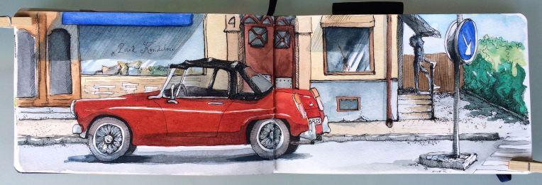 red sportscarIMG_6221