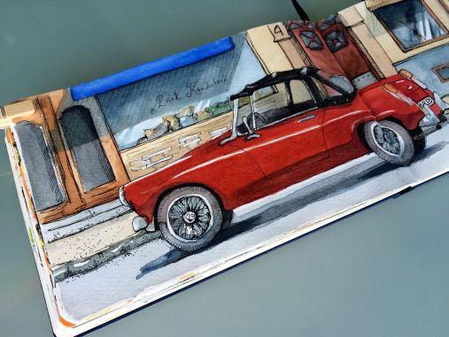 red sportscarIMG_6222